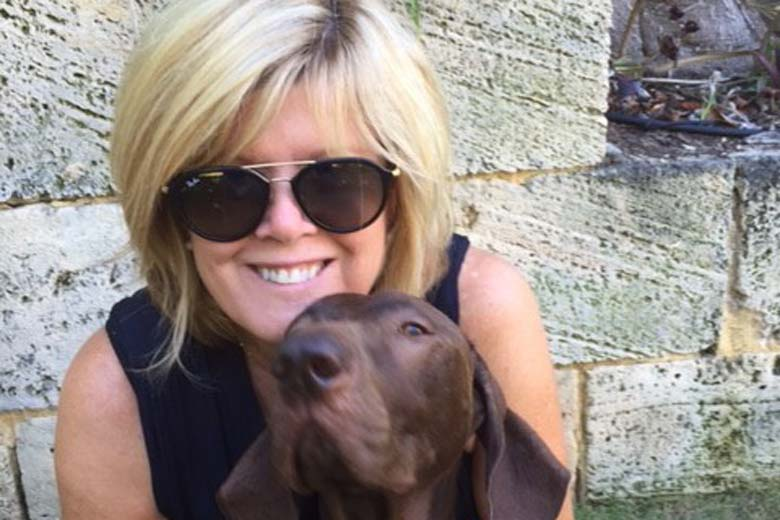 Catherine from Allpet House Sitters Perth with her Dog Elke