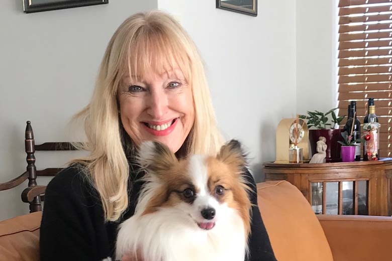 Jan from Allpet House Sitters Perth with Dog
